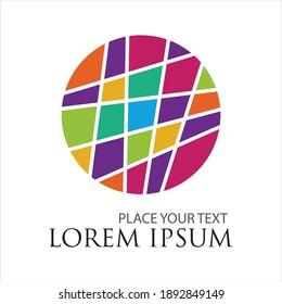 global vector logo illustration design template