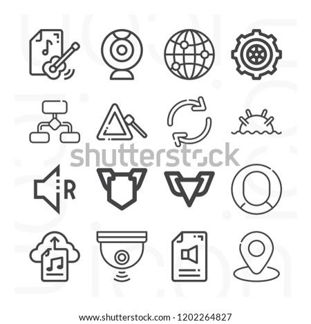 globe camera webcam setting profile placeholder stock vector Laptop Computers with Webcam globe camera webcam setting profile placeholder refresh diagram depth charge badge icon set suitable for info graphics websites and print media