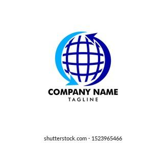Globe Global Sphere Exchange Logo