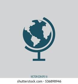 globe icon. earth