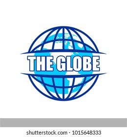 Globe icon logo
