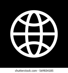 Simple Globe Icon Images, Stock Photos & Vectors | Shutterstock