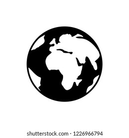 globe icons. Earth.