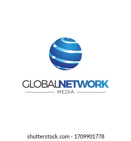 Globe logo 3D earth planet travel abstract business internet web network international communication ball net connection worldwide corporation connect global data community