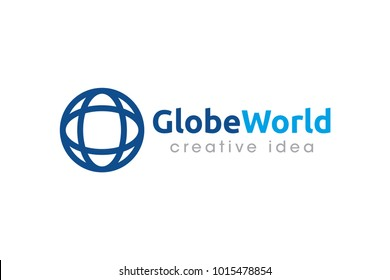 Globe Logo and Icon Template