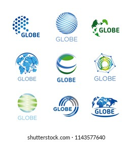 globe logos