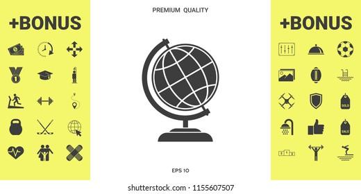 Globe symbol - Earth icon