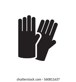 glove icon illustration isolated vector sign symbol