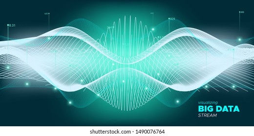 Glow Big Data Stream. Statistic Complexity Abstract. Green Dynamic Digital Technology. Blue Wave Big Data Stream. Dynamic Digital Binary Data. Glow Big Data Trade.
