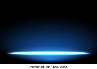 Glow light effect on Dark blue background