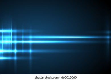 Glow light motion vector background