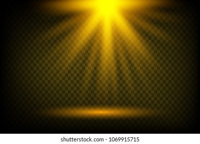 glowing abstract sun burst with digital lens flare.can your using adjustment layer like Gradient Selective Color, and create sunlight, optical flare