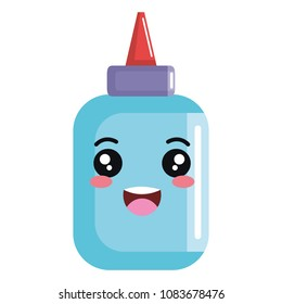 glue bottle isolated icon