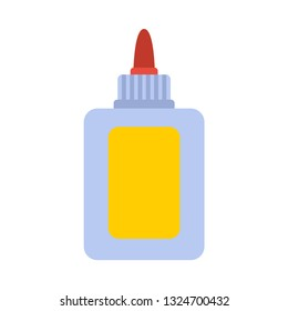 glue flat icon.You can be used glue icon for several purposes like: websites, UI, UX, print templates, presentation templates, promotional materials, web and mobile phone apps