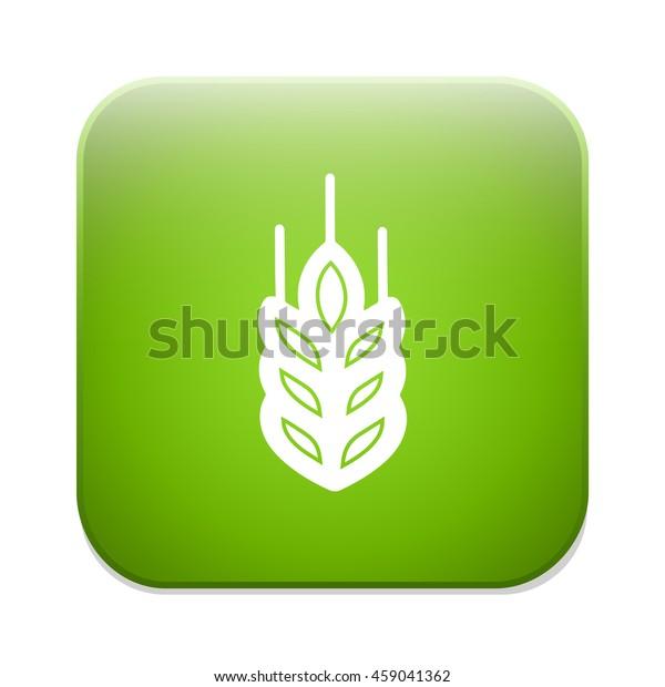 Gluten Free Icon No Gluten Stock Vector (Royalty Free) 459041362