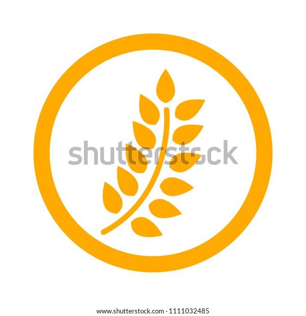 Gluten Free Icon Gluten Free Symbol Stock Vector (Royalty