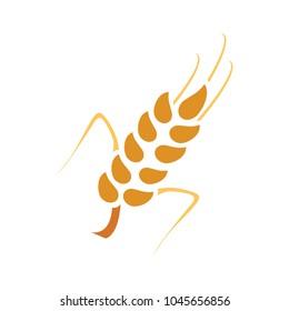 Gluten free icon, Gluten free symbol, organic food