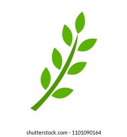 Gluten icon, vector symbol wheat free gluten - healthy organic food, bread illustration