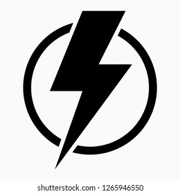 Glyph energy pixel perfect vector icon