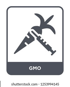 gmo icon vector on white background, gmo trendy filled icons from General collection, gmo simple element illustration