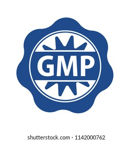 gmp rubber stamp, good manufacturing practice