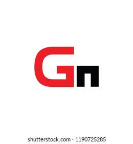 gn letter logo