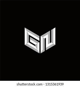 GN Logo Letter initial Designs Templete