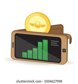 Gnosis Coin Cryptocurrency Digital Wallet