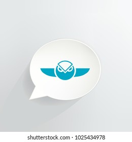 Gnosis Cryptocurrency Speech Bubble