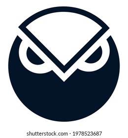 Gnosis GNO token symbol cryptocurrency logo, coin icon isolated on white background. Vector illustration.