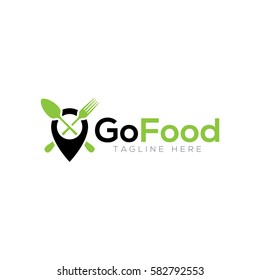 Go food logo design