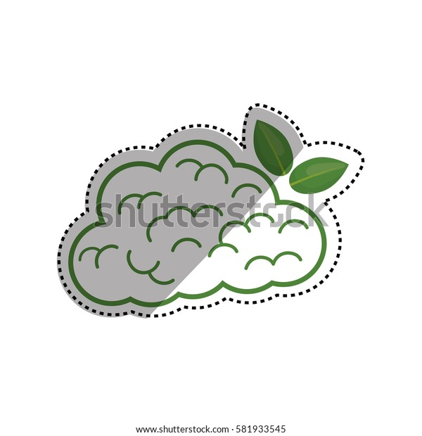 Go green mind icon vector illustration graphic design