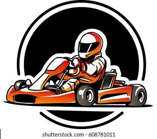 Go kart. Kart racing