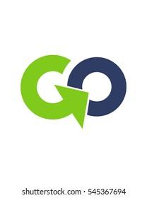 Go logo vector 3