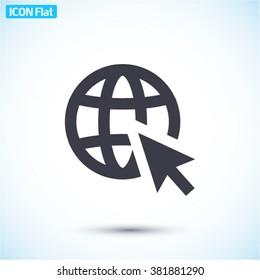 Go to web Icon
