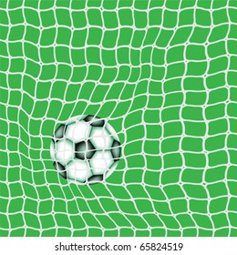 goal ball, abstract vector art illustration