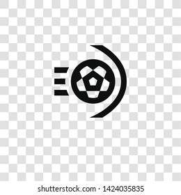 goal icon from miscellaneous collection for mobile concept and web apps icon. Transparent outline, thin line goal icon for website design and mobile, app development
