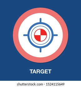 goal, target icon, arrow, bullseye, focus, target arrow, target market, dart, marketing, aim
