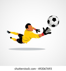 goalkeeper, ball icon