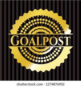 Goalpost gold emblem