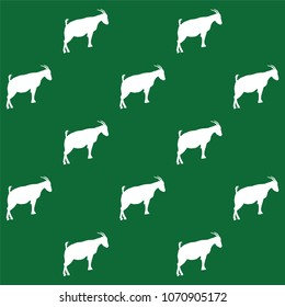goat animal vector