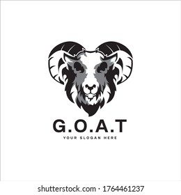 G.O.A.T (Greatest Of All Time) Logo design