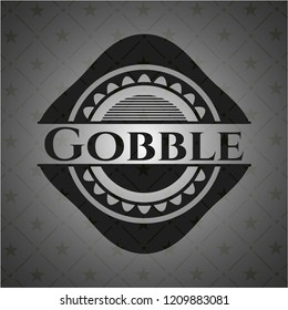 Gobble dark badge