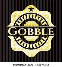 Gobble gold emblem