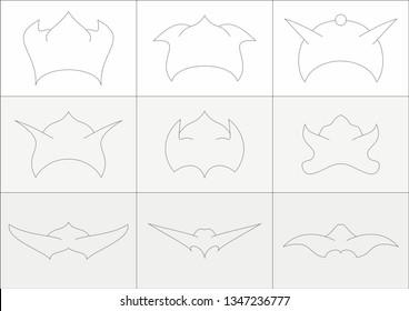 Goblin helmets with ears