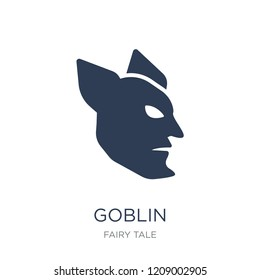 Goblin icon. Trendy flat vector Goblin icon on white background from Fairy Tale collection, vector illustration can be use for web and mobile, eps10