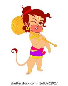 Hanuman Cartoon Images Stock Photos Vectors Shutterstock