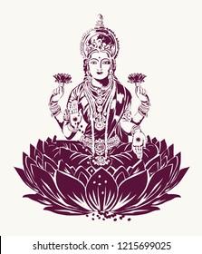 God laxmi for diwali festival