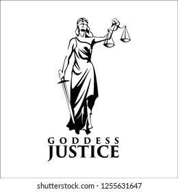 goddes justice / exclusive logo designs inspiration