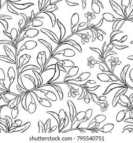 goji seamless pattern